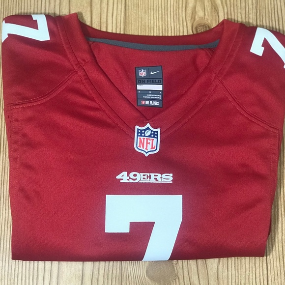 info for b50bf 6a4c2 NFL On the Field 79ers Colin Kaepernick #7 Jersey